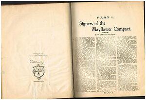 The-Mayflower-Pact-by-Annie-Haxtun-1897-Rare-Antique-Book