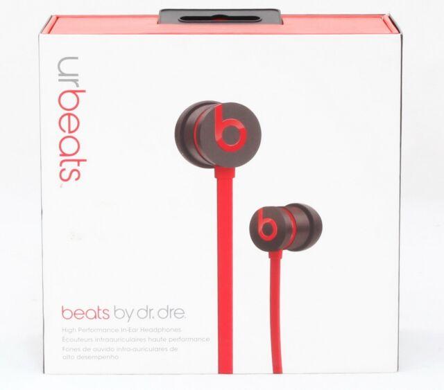 Beats By Dr Dre Urbeats In Ear Headphones Red For Sale Online Ebay