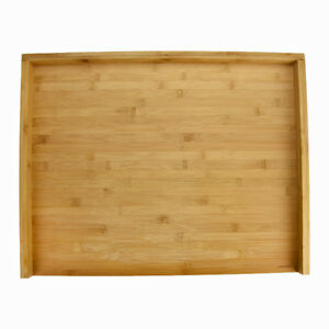 Large Bamboo Wood Pastry Board 55 Cm Chopping Cutting Pizza Baking
