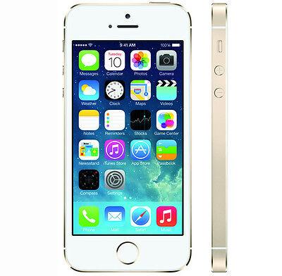 APPLE IPHONE 5S 64GB GOLD - SIMLOCKFREI OHNE VERTRAG - GEBRAUCHT - SMARTPHONE