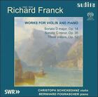 Richard Franck: Works for Violin and Piano Super Audio Hybrid CD (CD, Jan-2004, Audite)