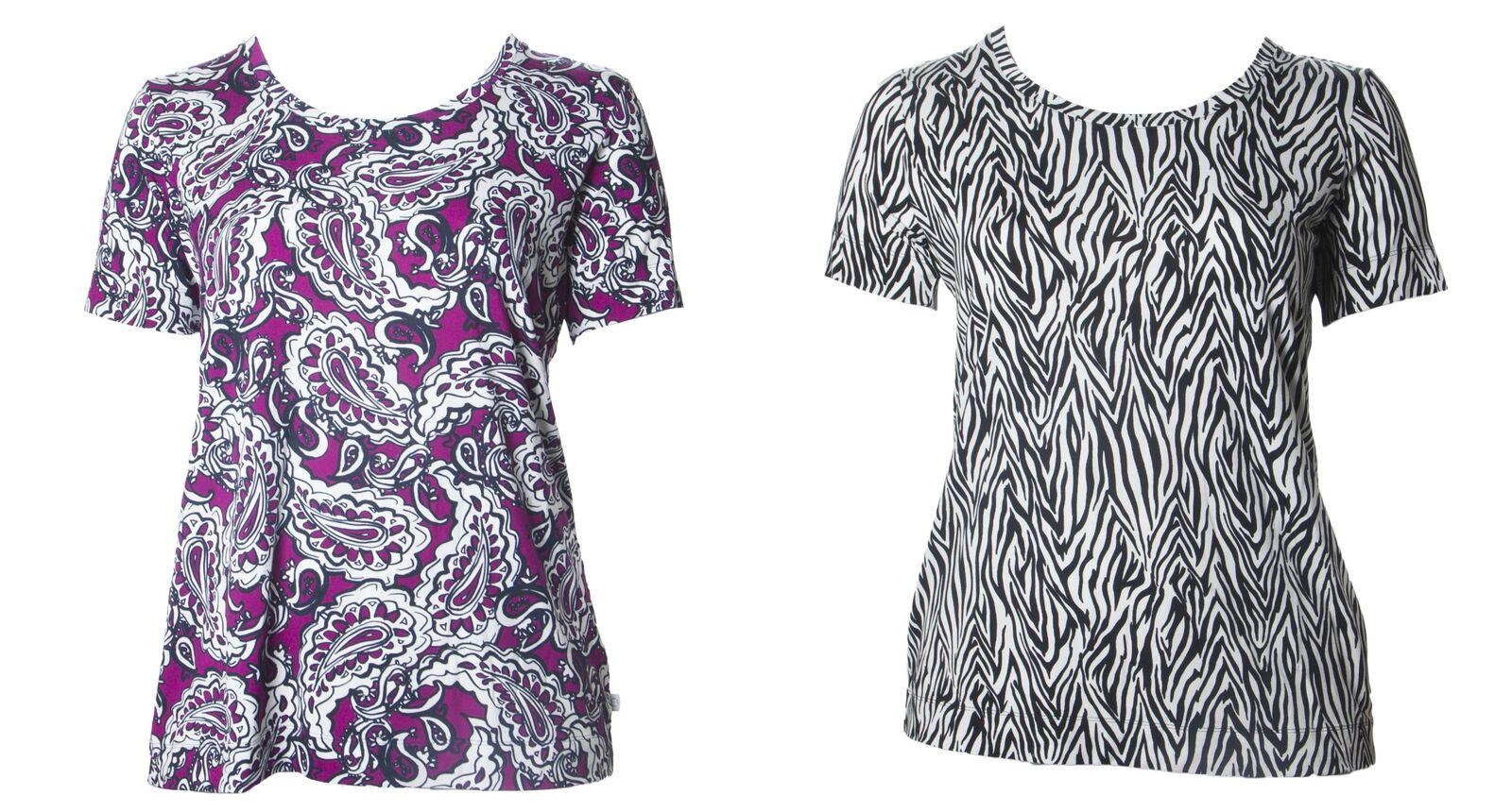 MARINA RINALDI Woherren Veronica Graphic T-Shirt  NWT