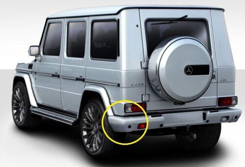 """EXPRESS REAR Bumper LEFT End Cap Sensor Hole 1.2/"""" for Mercedes W463 G Class G63"""