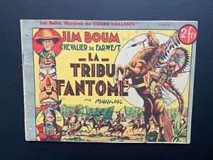 Jim-Boum-chevalier-du-far-west-La-tribu-fantome-Supplement-de-CV-n-17