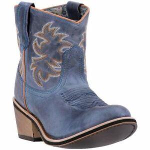 Stivali da Larhio donna cowboy Sapphrye 51026eac5d28c1f1511d513db14f24eb56870 blu navy in pelle da western Nn0yOvm8w