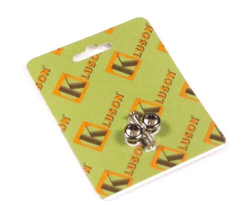 set of 2 Nickel Genuine Kluson replacement Gibson strap button set