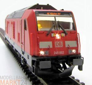 BRAWA-42900-Diesellok-BR-245-in-rot-DB-Ep-VI-NEM-KK-DSS-Spur-H0-OVP