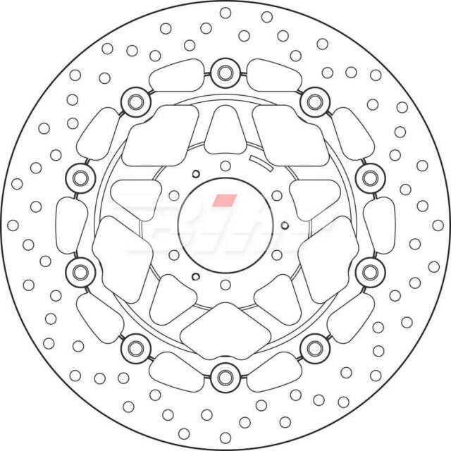 78B40825 : BREMBO Disque de Frein Flottant BREMBO 78B40825