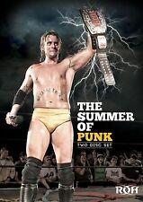 ROH RING OF HONOR CM PUNK The Summer Of Punk 2x DVD REGION CODE 0 NEU