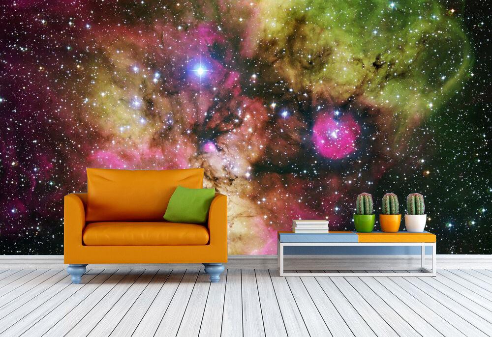 3D Bright Star Universe WallPaper Murals Wall Print Decal Wall Deco AJ WALLPAPER