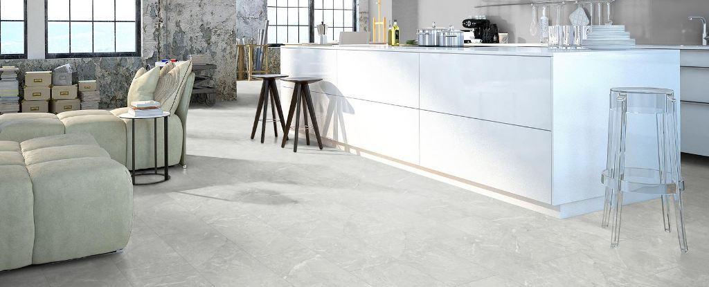 16 50 m laminat classen visiogrande granit wei inkl leisten d mmung ebay. Black Bedroom Furniture Sets. Home Design Ideas