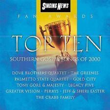 Singing News Fan Awards Top Ten Southern Gospel Songs of 2000 SEALED NEW various