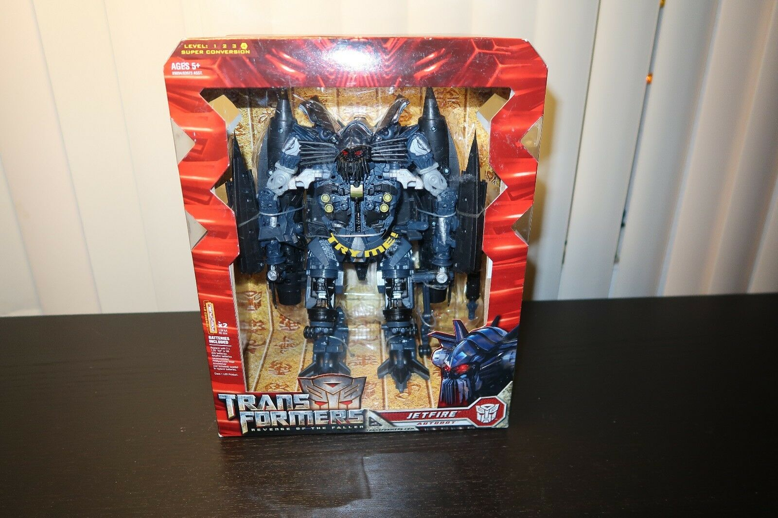 2008 Transformers Leader Class JETFIRE  NEW & SEALED