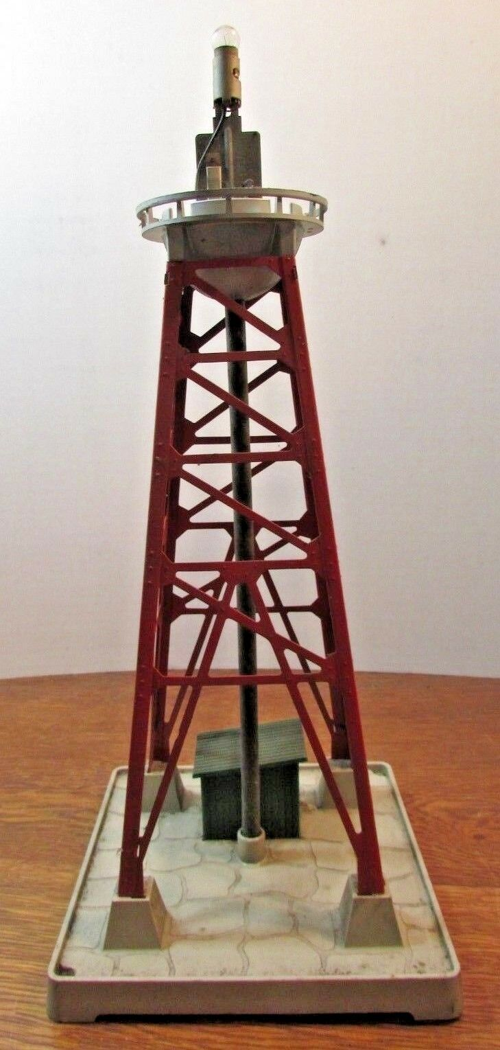 Vintage Train Lionel No 193 Water Tower With Metal Lattice Work Tower