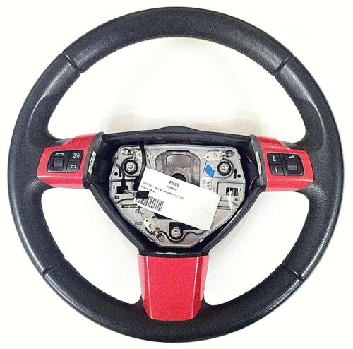 2004-10 VAUXHALL ASTRA MK5 STEERING WHEEL SPOKE COVER TRIMS SPORTS RED