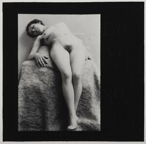 Superb-original-1920s-female-nude-glass-positive-artistic