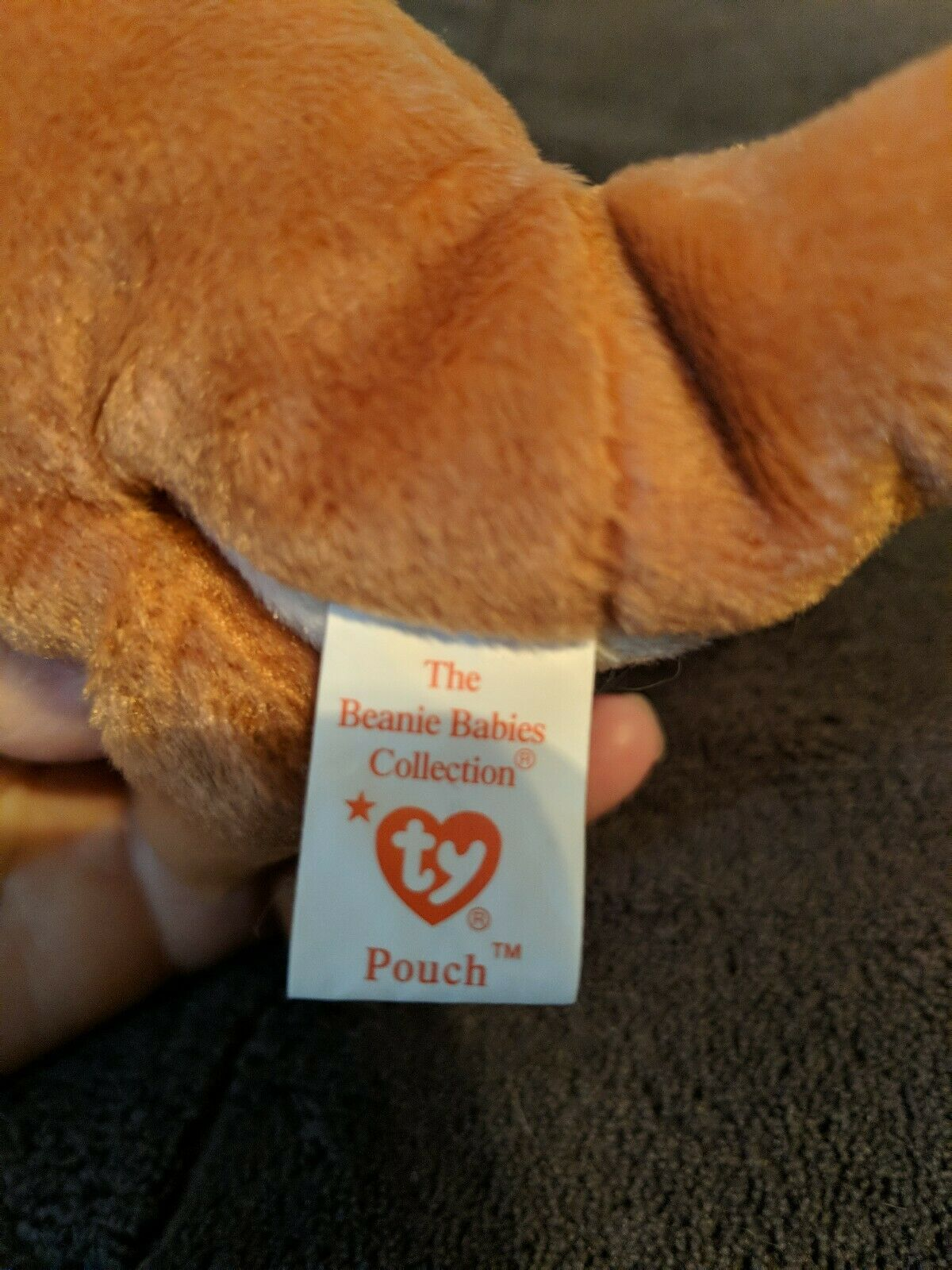POUCH Beanie Baby Baby Baby With Tags In Excellent Condition-Authentic-TY tag RARE e7fbd1