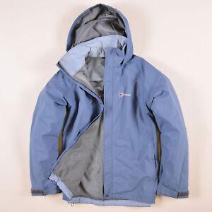 factory price 03f59 d1f88 Details zu Berghaus Damen Jacke Jacket Gr.16 (DE 44) AquaFoil Regenjacke  Blau, 61980