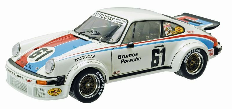 SCHUCO 00335 00336  00338 PORSCHE 934 RSR model GT race cars Ltd Editions 1 18th