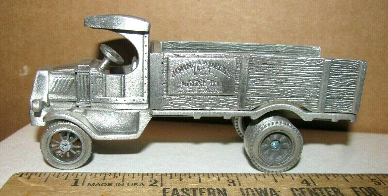 Distribuidor de edición limitada de John Deere 1921 camión de reparto que juguete de estaño 1 43 Spec Cast