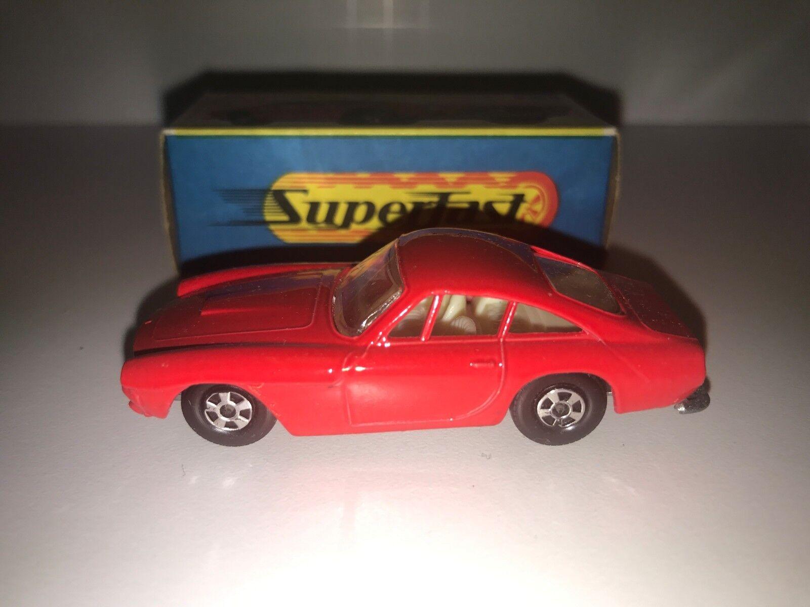 Matchbox Rojo Ferrari Berlinetta súperfast Menta Menta en caja original de G2