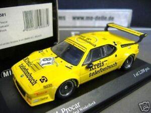 Bmw-m1-Procar-Serie-1979-81-Winkelhock-circulo-guia-telefonica-1981-Minichamps-1-43