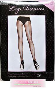 77bea0774e646 Image is loading LEG-AVENUE-Plus-Size-Backseam-Fishnet-Pantyhose-Tights-