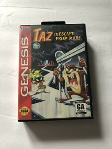 Taz-In-Escape-From-Mars-Sega-Genesis-No-Manual-1994-Cleaned-amp-Tested