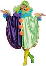 Clowns-Cape für Damen NEU - Damen Karneval Fasching Verkleidung Kostüm