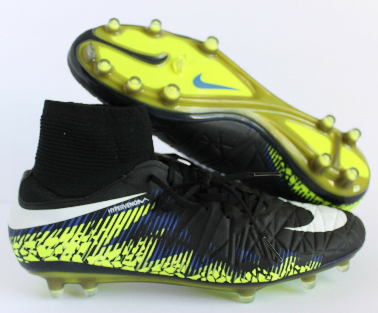 Nike hypervenom phatal ii - fg schwarz-Weiß-volt sz 9,5 9,5 9,5 2c202f