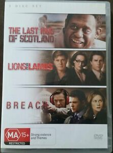 The-Last-King-of-Scotland-Lions-For-Lambs-Breach-DVD