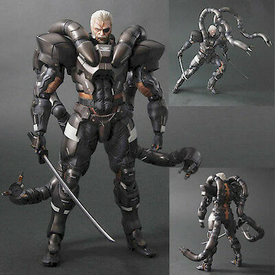 Metal Gear Solid 2 Play Arts Kai Solidus Snake Action Figure - NEW Square Enix