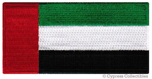 UAE National Flag Patch United Arab Emirates Dubai Iron-on Embroidered  Souvenir