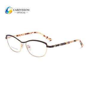 dbd2e41dc8 Fashion Women s Spring Hinge Eyeglasses Frames Metal Glasses Frame ...