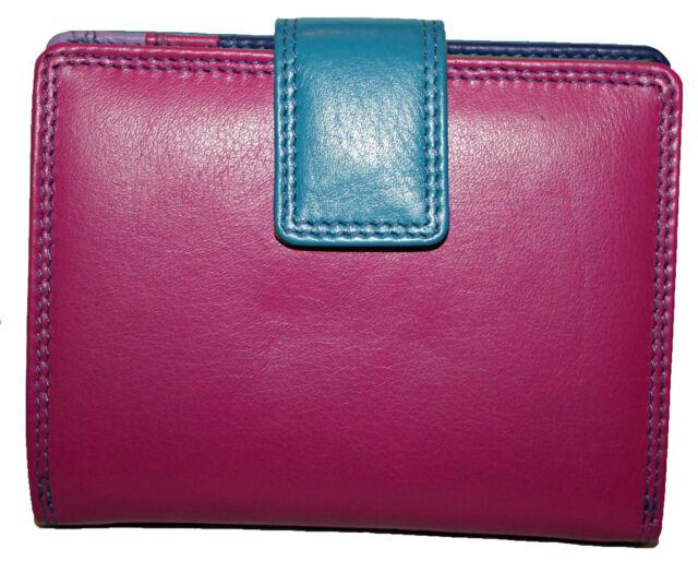 Golunski Medium Leather Trifold Purse  Style 883  Colour Various  New