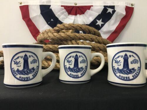 Lighthouse Service Mug D/&D Lines U.S Navy Blue Collection