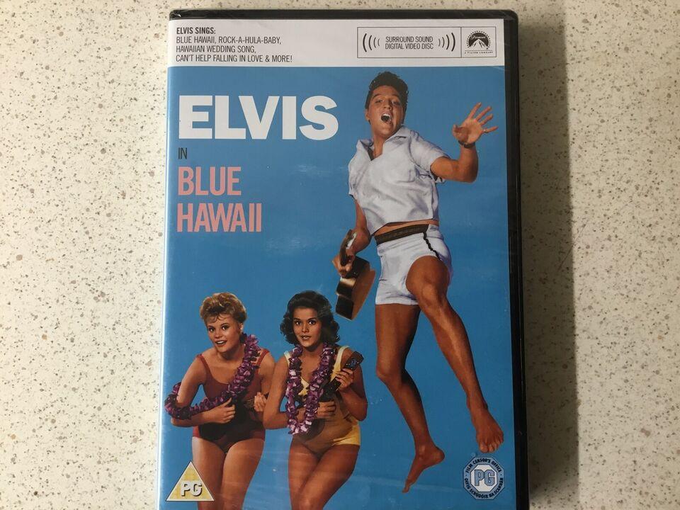 Elvis in blue Hawaii ny, DVD, musical/dans