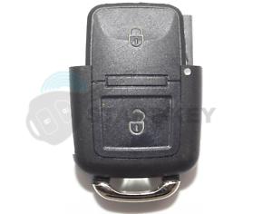 VW-Seat-Skoda-Schlussel-2Tasten-Gehause-Fabia-Golf-4-Polo-Sharan-Alhambra-TDI