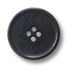 pm306gr silber graue Vierloch Knöpfe aus echtem Perlmutt 3 sehr hochwertige