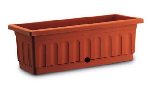 Plastecnic Cassetta in Plastica con Sottocassetta Itaca