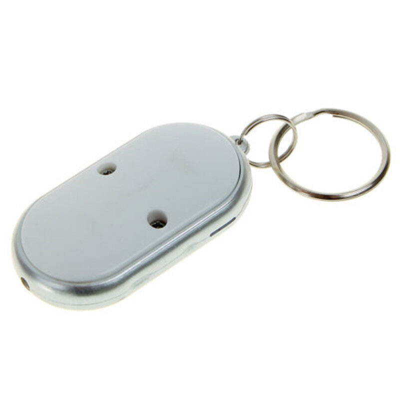 Whistle Sound Led Light Anti-lost Alarm Key Finder Locator Keychain Device Random Color Modern And Elegant In Fashion Security & Protection