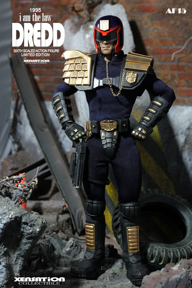 Hot - New 1 6 Xensation Toys - Judge I am the Law - Action Figures MIB