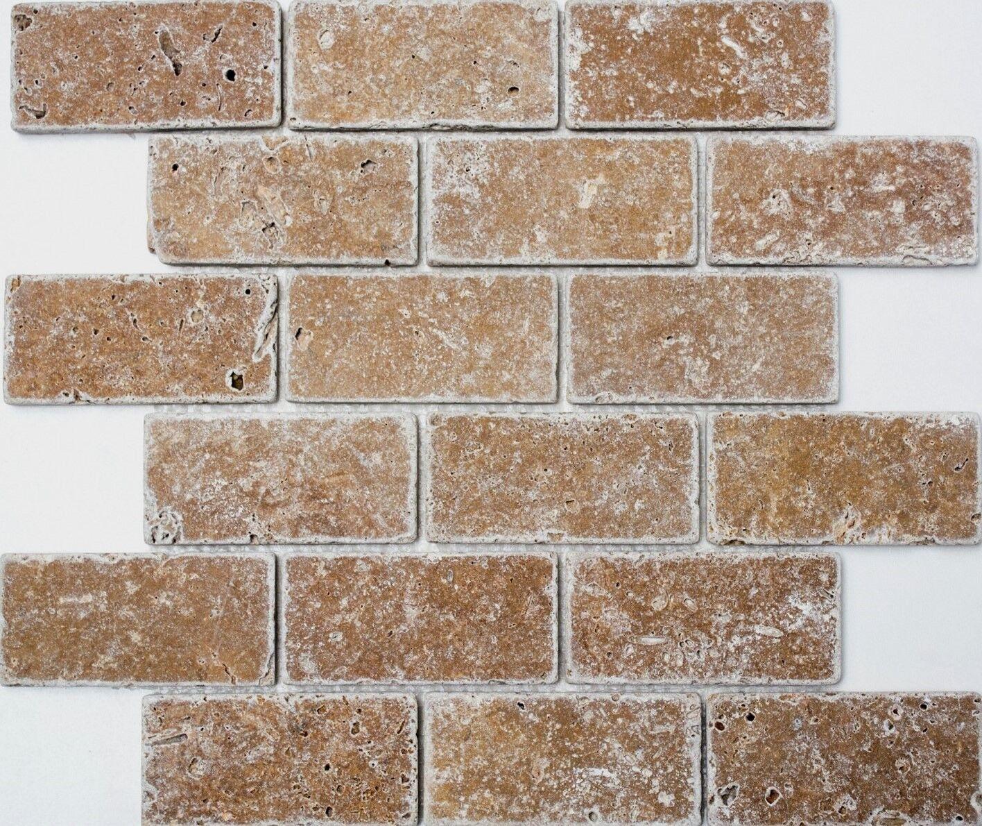 Mosaik Verbund Inula Noce antique TraGrünine Fliesenspiegel Art 43-1208 10Matten