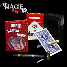 Lot 4 tours de magie - thème FUMEUR - cigarette - magie