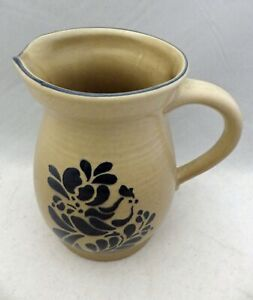 "Pfaltzgraff Folk Art pattern – 2 1/2 Qt. Beverage Pitcher - 8 5/8""- USA - EUC"