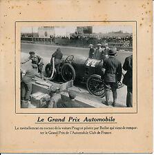 DIEPPE 1912 - Boillot sur Peugeot Grand Prix de France - 48