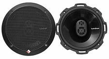 "Pair Rockford Fosgate Punch P1675 220w 6.75"" 3-Way Full Range Car Audio Speakers"
