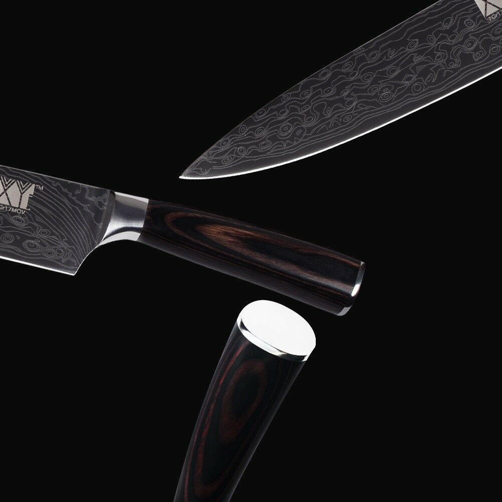 Kitchen Knife Set Stainless Steel Chef Santoku Utility Slicing Slicing Slicing Knives Sashimi XL 884a55