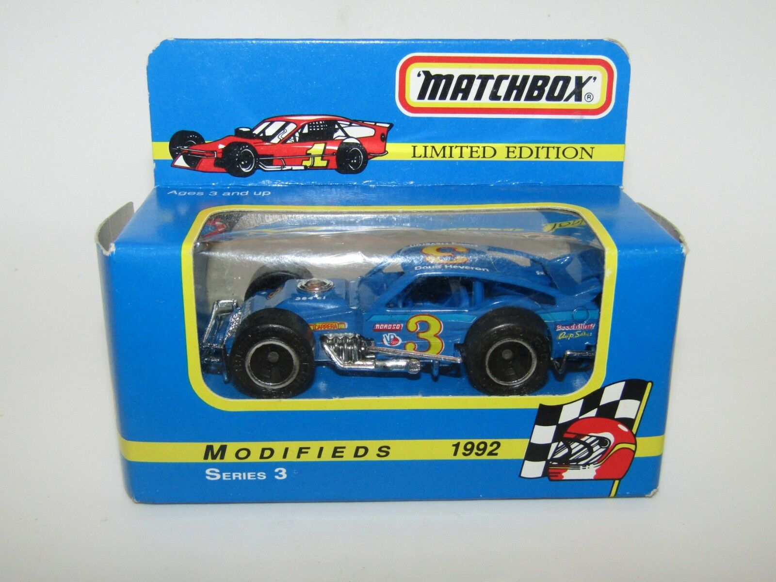 Matchbox Superfast No 12 Modified Racer LIGHT LIGHT LIGHT blueE MIB RARE only 10000 made 4185a4