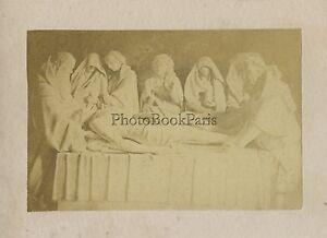 Soprammobile Religion CDV Foto Vintage Albumina